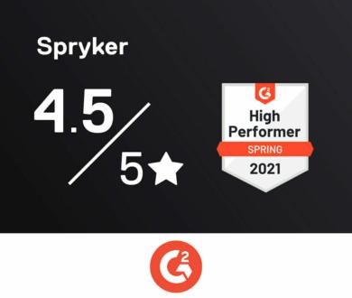Graphic G2 spryker score