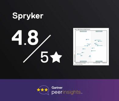 Graphic Gartneer Peer Review Spryker score