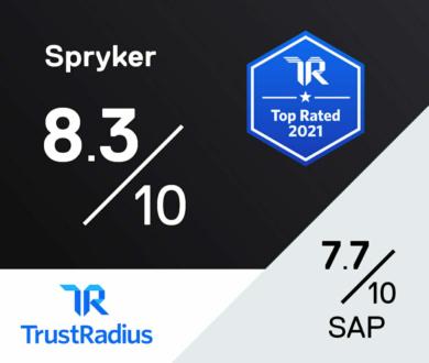 Trustradius review Spryker versus SAP